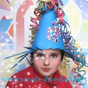 il cappello a cono per Carnevale