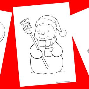 Natale – disegni da colorare