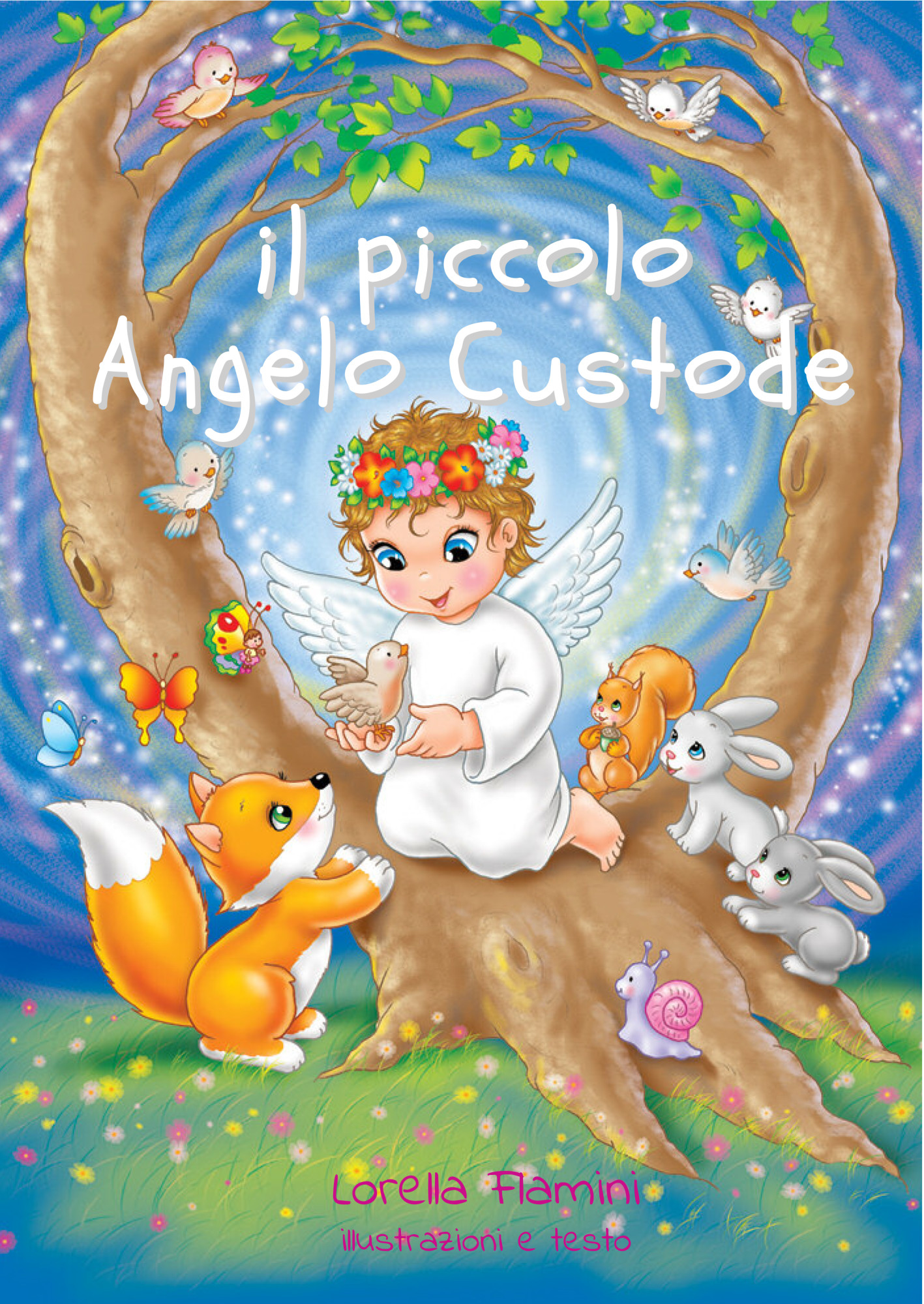 Il piccolo Angelo Custode – storia da colorare
