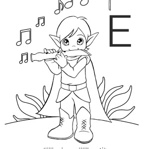La vocale E