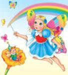 Fata Colorina, storia di Primavera da colorare