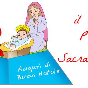 Natale – biglietto pop-up della Sacra Famiglia 1