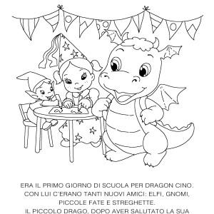 Accoglienza – Dragon Cino e il primo giorno di scuola