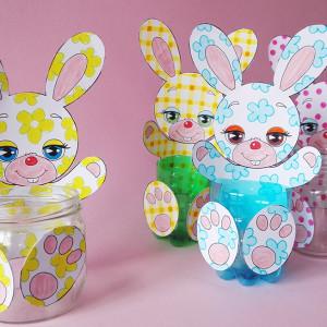 Lavoretto di Pasqua – i coniglietti