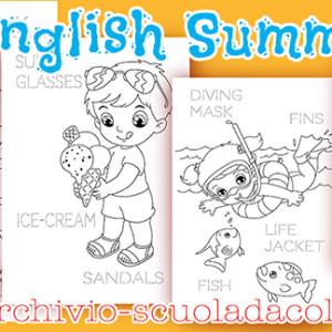English summer – schede didattiche estive