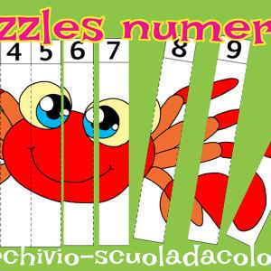 Puzzles numerati