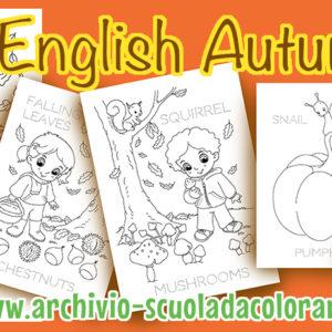 English autumn –  schede didattiche sull'autunno