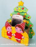Porta cellulare di Natale