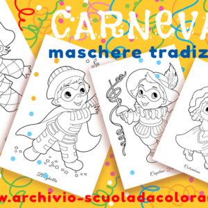 Maschere tradizionali di Carnevale