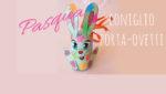 Pasqua, coniglietto porta-ovetti