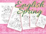 English Spring – schede didattiche sulla Primavera