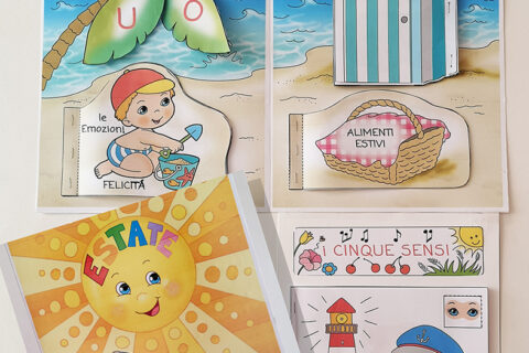 lapbook estate scuola infanzia